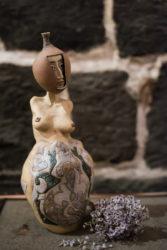 Armenian woman sculpture/Քանդակ Հայ կին