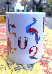 Mug Armenian Letters